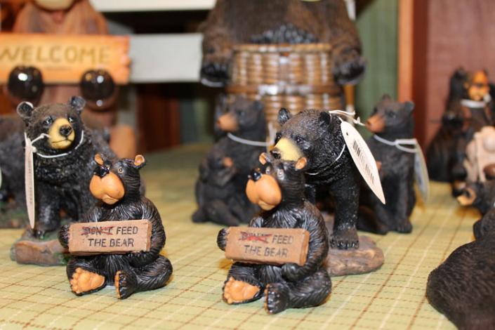 Flossies General Store bears
