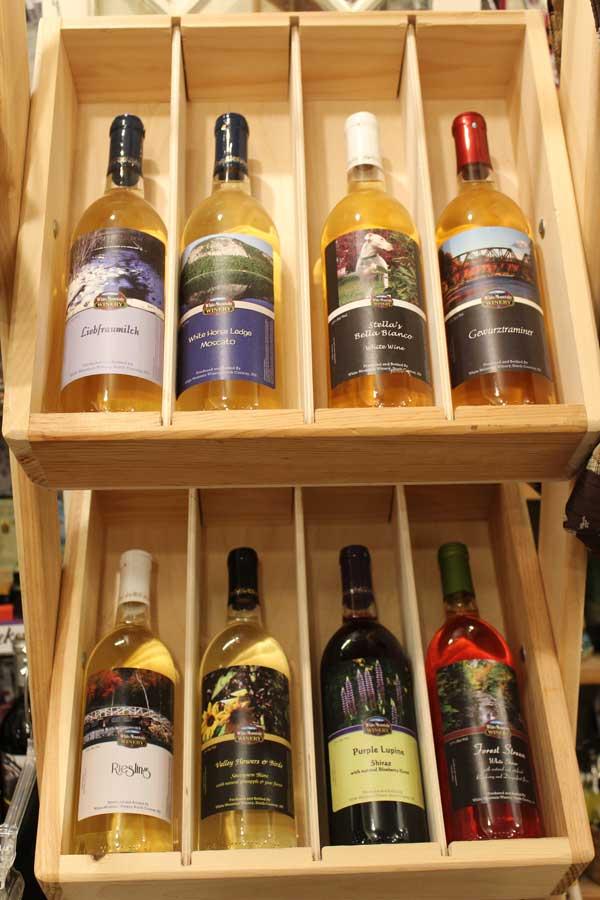 Flossies General Store wine